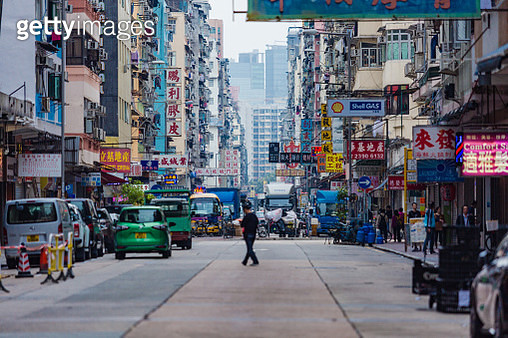 Mongkok is one of the major shopping areas of Hong Kong, with industries mostly retail, restaurants, and entertainment. On film, this area is often depicted as the Triad hall operating nightclubs, bars, and massage parlors. With an extremely high populati - gettyimageskorea