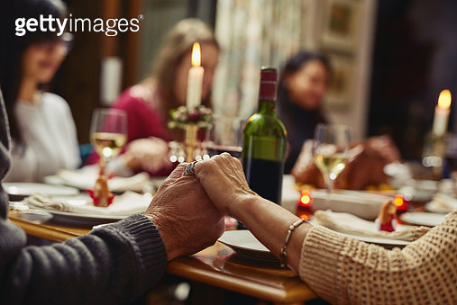 First we pray then we feast - gettyimageskorea