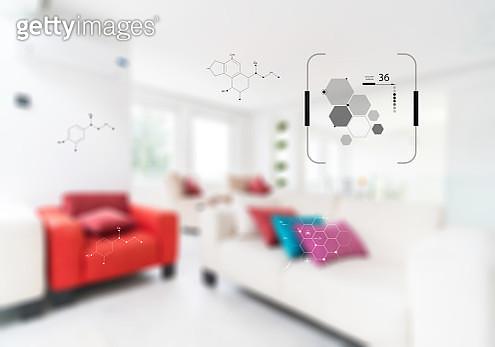 Smart home display control panel - gettyimageskorea