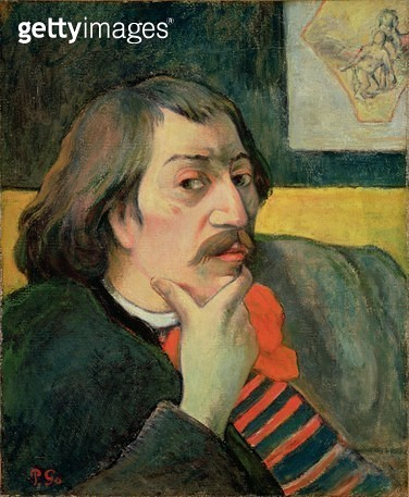 <b>Title</b> : Self Portrait, c.1893 (oil on canvas)<br><b>Medium</b> : oil on canvas<br><b>Location</b> : The Detroit Institute of Arts, USA<br> - gettyimageskorea