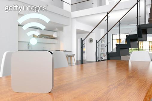 Smart Home voice assistant - gettyimageskorea