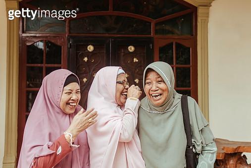 Senior Muslim Woman - gettyimageskorea