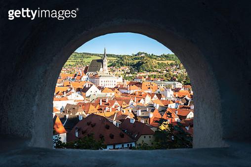 Frame of Cesky Krumlov,Czech Republic, Europe - gettyimageskorea