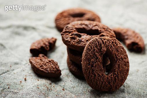 Homemade chocolate cookies - gettyimageskorea