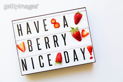 Have a Berry Nice Day - gettyimageskorea