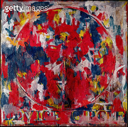 <b>Title</b> : Device Circle, 1959 (oil on canvas)Additional Infoexhibited at the Venice Biennale in 1964;<br><b>Medium</b> : <br><b>Location</b> : Private Collection<br> - gettyimageskorea