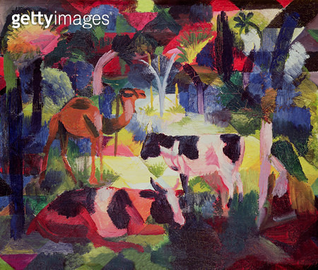 <b>Title</b> : Landscape with Cows and a Camel (oil on canvas)<br><b>Medium</b> : oil on canvas<br><b>Location</b> : Kunsthaus, Zurich, Switzerland<br> - gettyimageskorea
