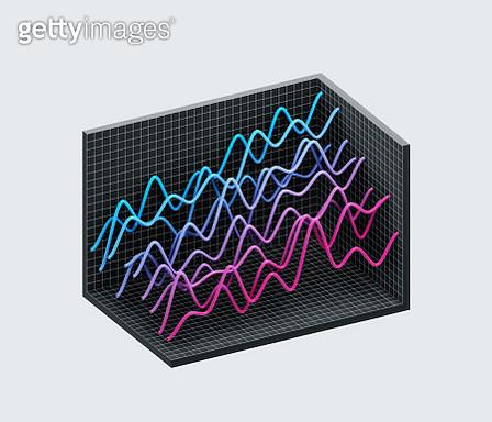 Line graphs - gettyimageskorea