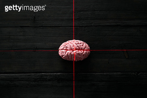 Artificial intelligence, brain getting measured by light ray - gettyimageskorea