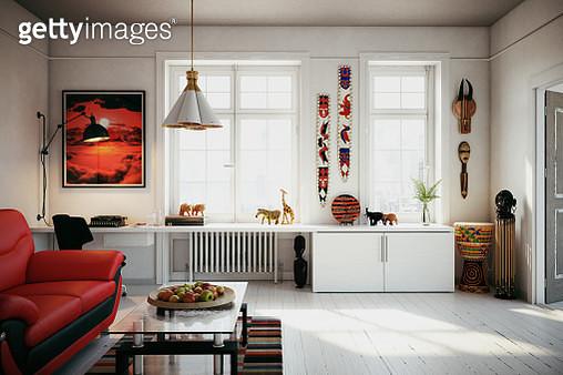 Scandinavian Home Interior - gettyimageskorea