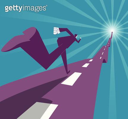 Run to success - gettyimageskorea