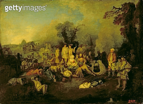 <b>Title</b> : Gypsy Encampment<br><b>Medium</b> : <br><b>Location</b> : <br> - gettyimageskorea