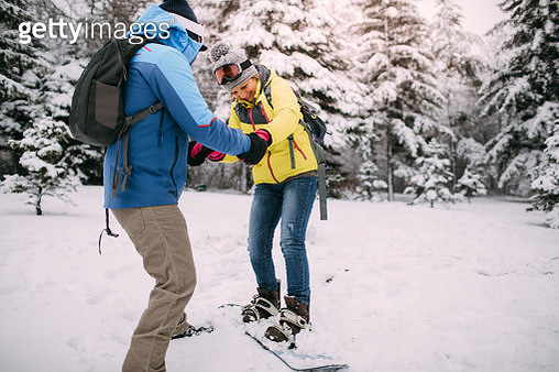 It's never too late for snowboarding lessons - gettyimageskorea
