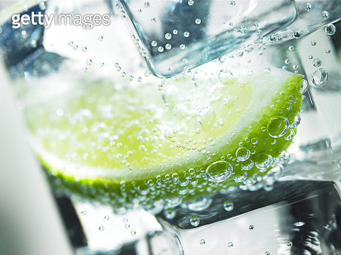 Lime in Iced Drink - gettyimageskorea