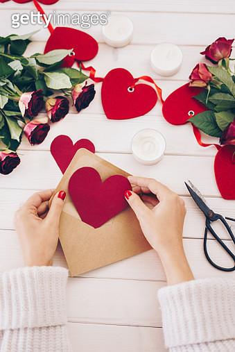 Valentines's day preparation - gettyimageskorea