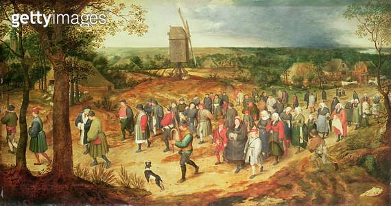 <b>Title</b> : A Peasant Wedding<br><b>Medium</b> : <br><b>Location</b> : Private Collection<br> - gettyimageskorea