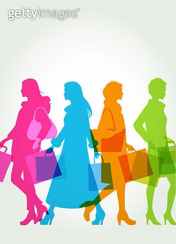 High Street Shoppers - gettyimageskorea
