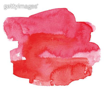 Vectorized  watercolor splash. - gettyimageskorea