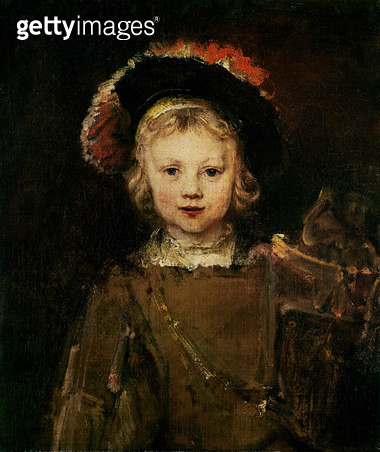<b>Title</b> : Young Boy in Fancy Dress, c.1660 (oil on canvas)<br><b>Medium</b> : oil on canvas<br><b>Location</b> : Norton Simon Collection, Pasadena, CA, USA<br> - gettyimageskorea