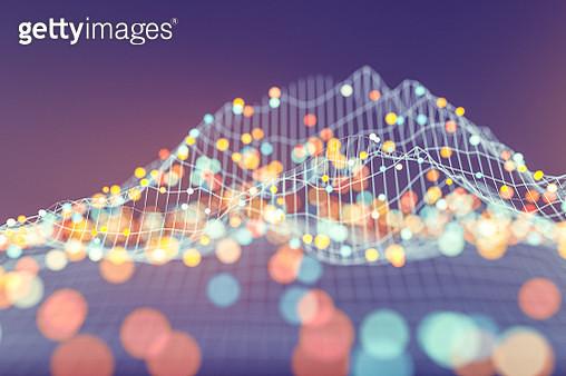 Abstract data representation. - gettyimageskorea