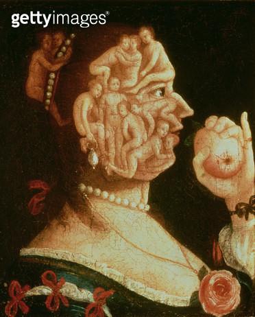<b>Title</b> : Portrait of Eve (oil)<br><b>Medium</b> : <br><b>Location</b> : Private Collection, Switzerland<br> - gettyimageskorea
