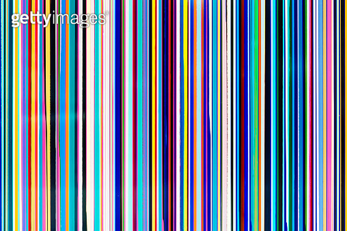 Abstract multicolored background with multiple colorful stripes - gettyimageskorea