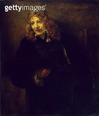 <b>Title</b> : Portrait of Nicolaes Bruyningh (1629/30 -1680), 1652 (oil on canvas)Additional InfoBildnis des Nicolaes Bruyningh;<br><b>Medium</b> : oil on canvas<br><b>Location</b> : Gemaeldegalerie Alte Meister, Kassel, Germany<br> - gettyimageskorea