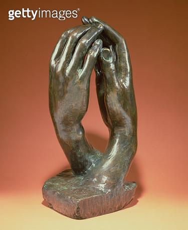 <b>Title</b> : The Secret, c.1910 (bronze) (see also 167161)<br><b>Medium</b> : bronze<br><b>Location</b> : Musee Rodin, Paris, France<br> - gettyimageskorea