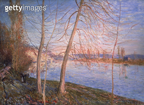 <b>Title</b> : Winter Morning, 1878<br><b>Medium</b> : oil on canvas<br><b>Location</b> : Private Collection<br> - gettyimageskorea