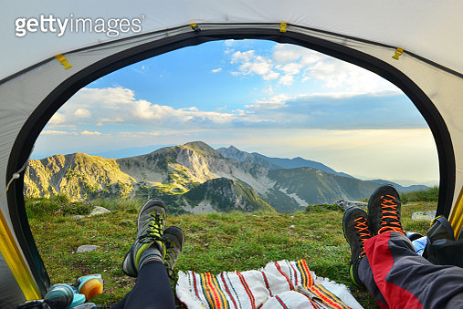 Landscape from Pirin mountain national park, UNESCO world heritage site. Hiking in August - 2018, Bulgaria, Europe. - gettyimageskorea