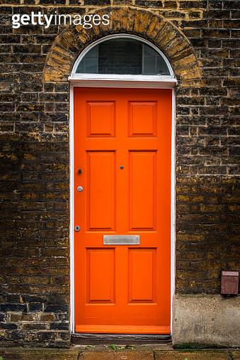 A door in Roupell Street - gettyimageskorea