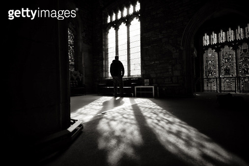 Man in the Shadows - gettyimageskorea