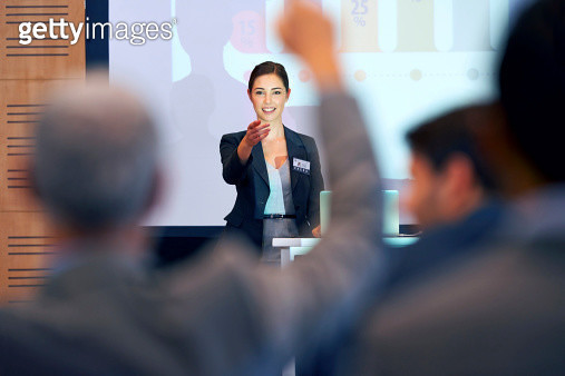 Opening the floor for questions - gettyimageskorea