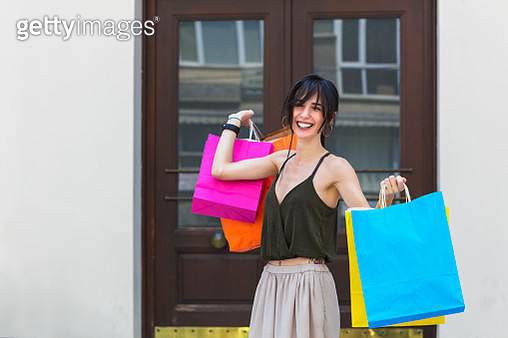 I feel great after shopping - gettyimageskorea