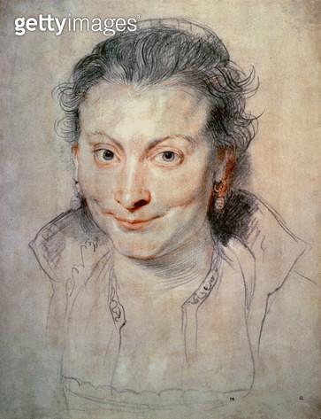 Portrait of Isabella Brandt (drawing) - gettyimageskorea