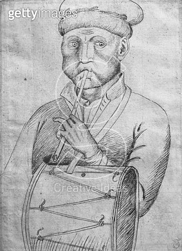 <b>Title</b> : Musician (pen & ink on paper) (b/w photo)<br><b>Medium</b> : pen and ink on paper<br><b>Location</b> : Louvre, Paris, France<br> - gettyimageskorea