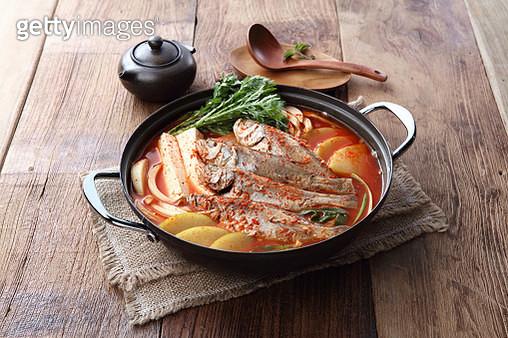 Korean style spicy fish stew - gettyimageskorea
