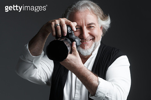 A professional photographer - gettyimageskorea
