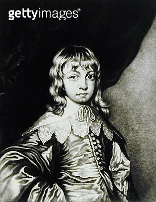 <b>Title</b> : Portrait of George, Duke of Buckingham (1592-1628) engraved by Robert Dunkarton (1744-c.1817) from 'Illustrious Characters in Br<br><b>Medium</b> : mezzotint<br><b>Location</b> : Private Collection<br> - gettyimageskorea