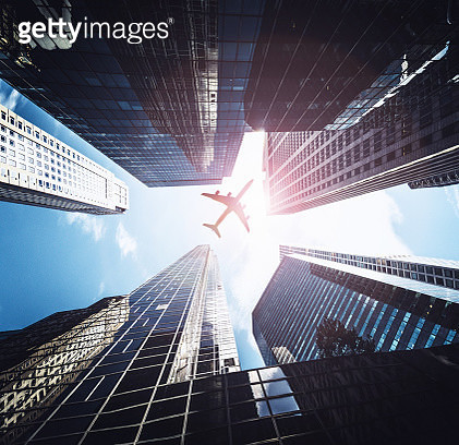 futuristic building in nyc - gettyimageskorea