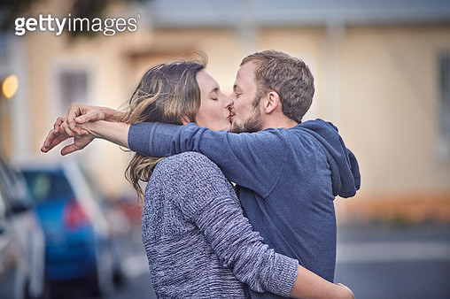 Young couple in love - gettyimageskorea