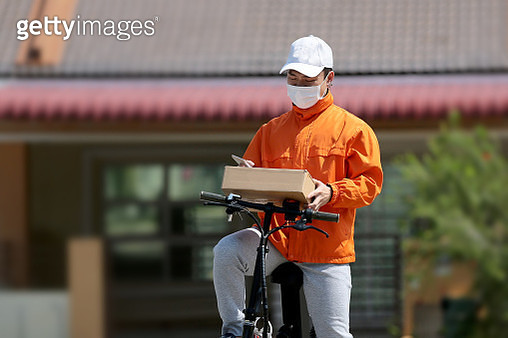 Covid-19: Delivery Service - gettyimageskorea
