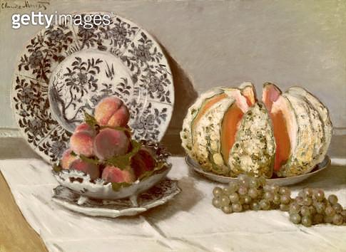<b>Title</b> : Still Life, c.1876 (oil on canvas)<br><b>Medium</b> : oil on canvas<br><b>Location</b> : Museu Calouste Gulbenkian, Lisbon, Portugal<br> - gettyimageskorea