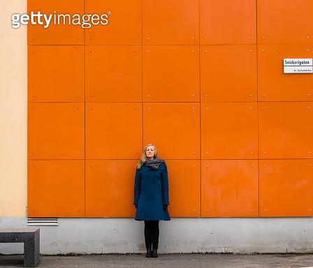 The Orange Wall - gettyimageskorea