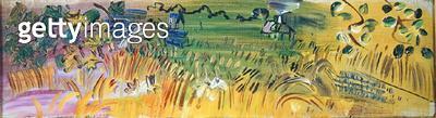 Landscape (oil on canvas) - gettyimageskorea