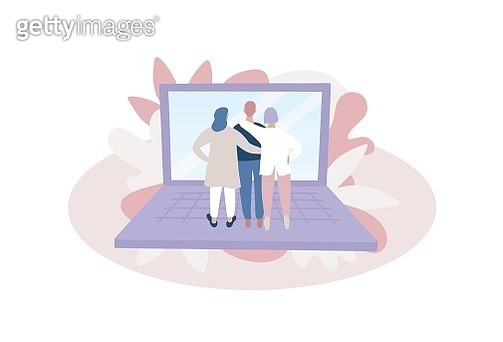 online meeting, Quarantine, coronavirus, covid-19, community, communicartion, conference, remote work, work at home, business, friend, human being - gettyimageskorea