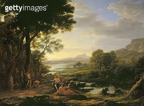 <b>Title</b> : Apollo flaying Marsyas (oil on canvas)<br><b>Medium</b> : oil on canvas<br><b>Location</b> : Collection of the Earl of Leicester, Holkham Hall, Norfolk<br> - gettyimageskorea