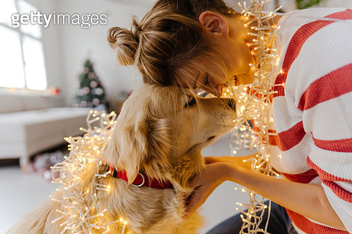 Christmas time with my favorite person - gettyimageskorea
