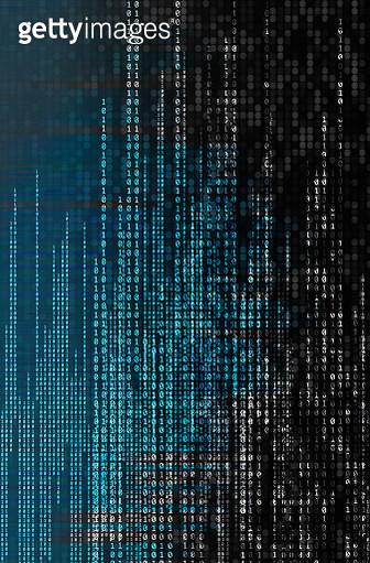 Digital binary code numbers - gettyimageskorea