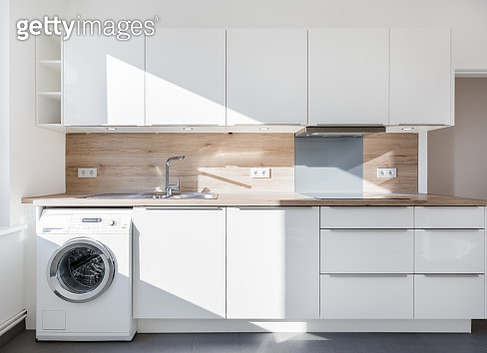HDR shot of a modern kitchen - gettyimageskorea